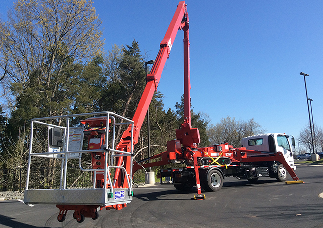 Isuzu Nrr Aerial Track Lift Package For Sale Trucks And